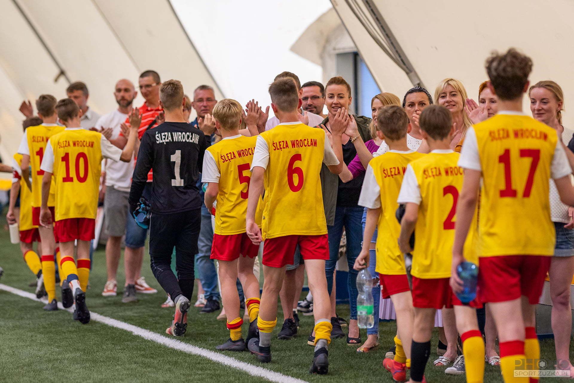 2021-06-12 Ślęza Wrocław (Młodziki I) vs Parasol II Wrocław